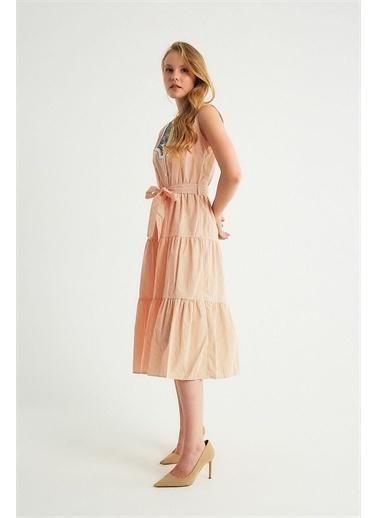 Robin Elbise Oranj